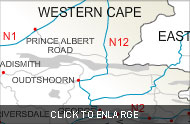 GardenRoute map