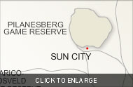 SunCitySurroundingAreas map